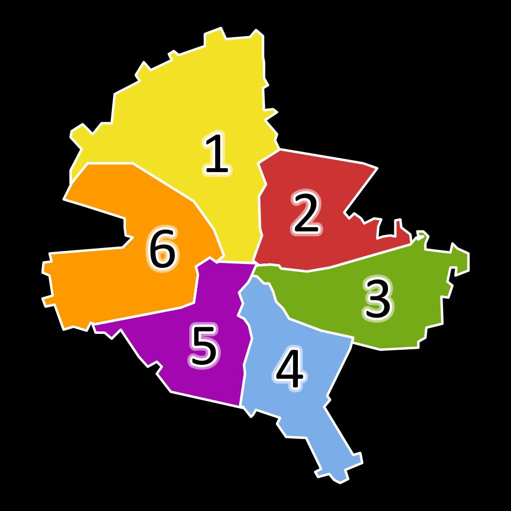 Harta Sectoare Bucuresti